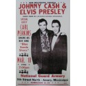 Elvis Presley & Johnny Cash Poster