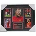 Wayne Rooney signed Memorabilia Limited Edition Framed
