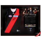 Jobe Watson signed 2012 Brownlow jersey image full view