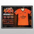 Brisbane Roar signed 2014 jersey Framed