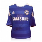 Didier Drogba signed Chelsea FC Jersey 2012 Champions League Final image