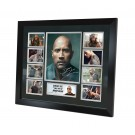 Dwayne Johnson signed photo Framed image