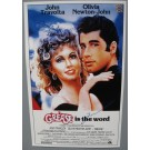 John Travolta & Olivia Newton John Grease Signed poster