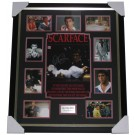 Scarface- Al Pacino signed photo framed authentic Image Full View