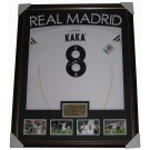 Kaka signed Real Madrid jersey FRAMED authentic Image Full View