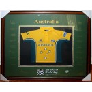 Australia World Cup 2003 cricket squad signed jersey authentic Image Full View