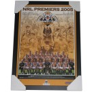 Wests Tigers 2005 PREMIERS squad poster framed FULL VIEW