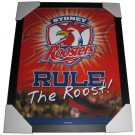 Sydney Roosters Club badge poster framed Image Full View