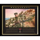 Anzacs Of Gallipoli Victoria Cross Oil Painting Framed
