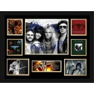 Van Halen signed photo framed memorabilia image full view