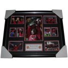 Wayne Rooney signed Manchester United 2008 photo Framed image full view
