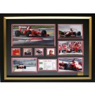 Felipe Massa Memorabilia Limited Edition Framed