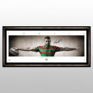 Greg Inglis signed Rabbitohs Wings Print