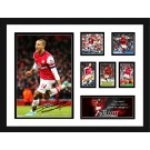 Theo Walcott signed Photo image full view