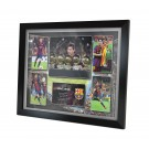 Lionel Messi signed Poster Framed image full view