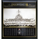 HMAS SYDNEY 2 PRINT PHOTO FRAMED