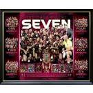 Queensland State of Origin Poster Framed magnificent 7