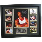 Rocky boxing Memorabilia Limited Edition Framed