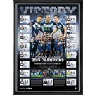 Melbourne Victory signed 2015 Lithograph image