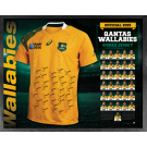 Wallabies 2015 Team Signed Jersey image
