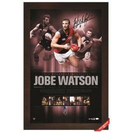 Jobe Watson signed 2012 Brownlow Lithogram image full view