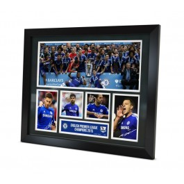 Chelsea FC Signed 2015 Photo Framed image