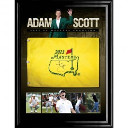 adam Scott signed memorabilia image full view