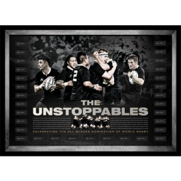 All Blacks 2014 'The Unstoppables' Lithograph image