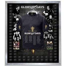 New Zealand All Blacks signed jersey Full Squad image full view