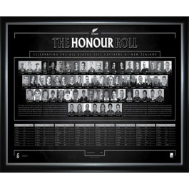 New Zealand All Blacks Rugby World Cup captains Poster