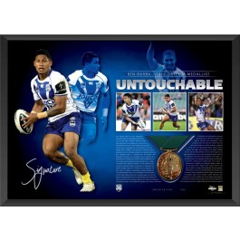 Ben Barba signed Dally M Memorabilia image full view