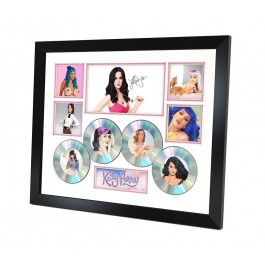 Katy Perry signed photo Framed image