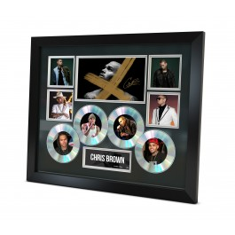 Chris Brown Music Memorabilia Limited Edition