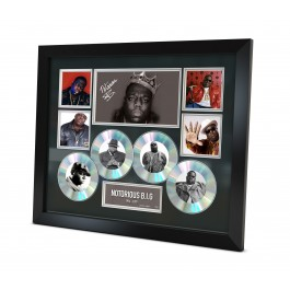 Notorious Big Biggie Smalls Autograph photo image