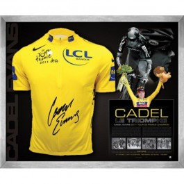 Cadel Evans Memorabilia Limited Edition image full view