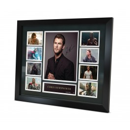 Chris Hemsworth signed Memorabilia