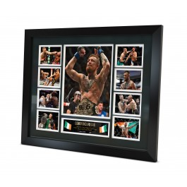 Conor McGregor Signed Photo Framed Memorabilia