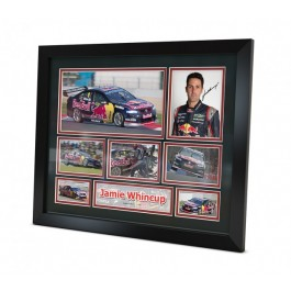 Jamie Whincup signed photo Framed Memorabilia image