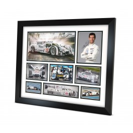 Mark Webber Memorabilia Limited Edition Framed image full view