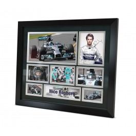 Nico Rosberg signed photo Formula one