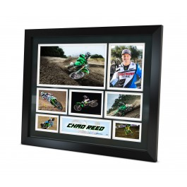 Chad Reed signed photo Framed Memorabilia image full view