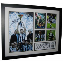 Alessandro Del Piero signed photo image full view