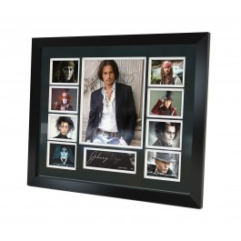 Johnny Depp signed memorabilia image