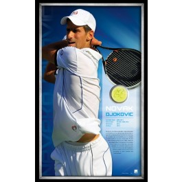 Novak Djokovic Signed Tennis Ball image full view