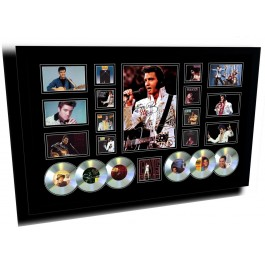 Elvis Presley 6cd memorabilia Framed