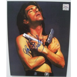 Antonio Banderras signed unframed photograph