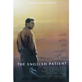 The English Patient Signed poster