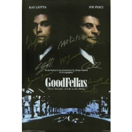 The Goodfellas Signed poster