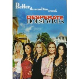 Desperate Housewives signed poster