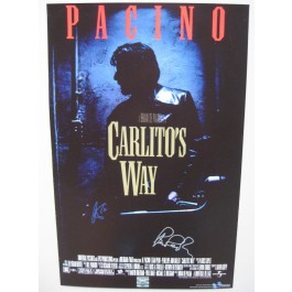Carlitos Way Signed Poster